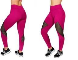 Leg pink ou azul/arrastão