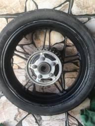 Roda de liga 300r com freio a disco