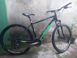 Bicicleta aro 29  freio a disco 24 v