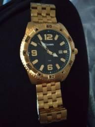 V/T por vídeo game  , relógio x-games dourado masculino,  relógio U-Boat ítalo Fontana.