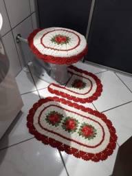 Jogo de banheiro lindeza