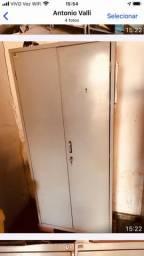 Arquivo com duas portas aço