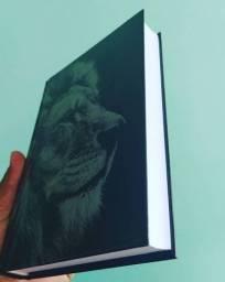Bíblia Capa Leão