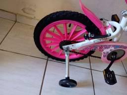 Bicicleta aro 16 seminova revisada