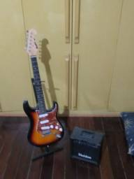 Guitarra Memphis Mg32 + Cubo Sheldon 15w