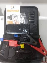Auxiliador de partida Multilaser bateria backup da partida no carro mesmo sem bateria