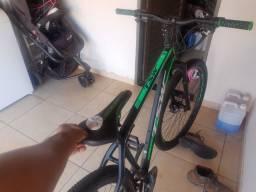 Bicicleta aro 29 tsw 24 marcha quadro tam.19 novíssima