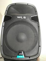 Caixa Acustica - Ativa - Wls J15 Bluetooth 250 Watts