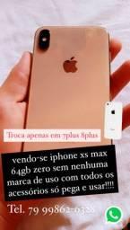 Vendo-Se ou Troco iPhone XS Max 64gb