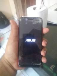 Asus zenfone maxshot 64gb com tela quebrada, mas funcionando