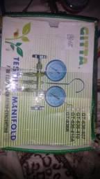 Conjunto de manifold de alta e baixa pressão