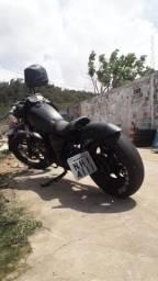 Vendo moto custom 350 cilindradas