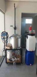 Kit produção de cerveja artesanal 50 litros