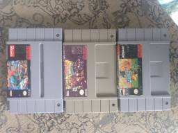 Cartuchos de snes originais
