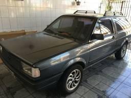Parati 1990 - MOTOR E DOC OK! Cinza grafite
