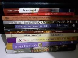 Livros evangélicos e biblias de estudo