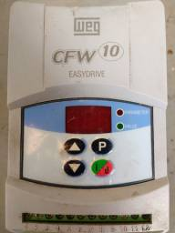 Inversor de frequência para conserto ou peças CFW10 Weg 1 cv 4 ampere