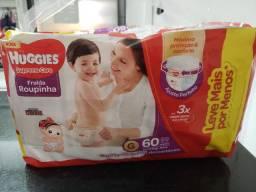 Frauda Huggies Supreme Care Roupinha G - 2 pacotes lacrados!!!