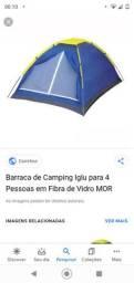 Barraca de camping pra alugar
