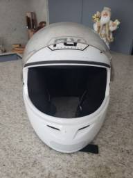 Capacete fly branco