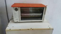 Um forno elétrico