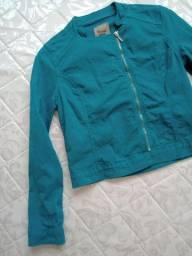 Jaqueta verde - marisa - TAM 40