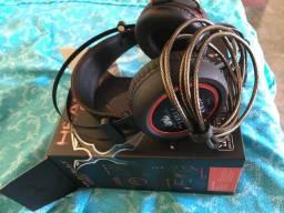 Headset- ( Troco, leia a descrição )