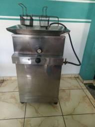 Fritadeira água e Óleo a gas