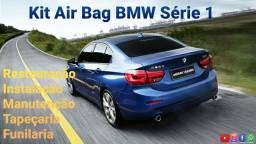Kit Air Bag BMW Série 1Restauração Instalação e Manutenção Pintura Tapeçaria