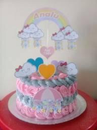 Trabalhamos com bolos, doces e salgados