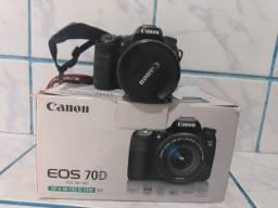 Canon EOS 70D com kit de 3 lentes