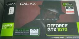 Placa de video GTX 1070 8gb