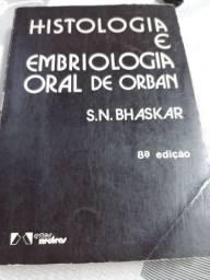 Livro de odontologia usado