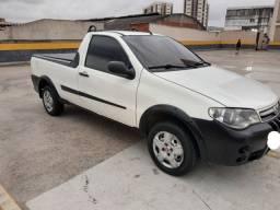 Fiat Strada Traking completo com GNV financio sem entrada Ac cartão