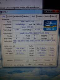 Kit i3-2130 + 8gb ram DDR3 + H61 + 2 HDs