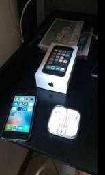 iPhone 5s 16g (com biometria/ n troco)