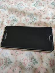 Smartphone Samsung A5 2016 dourado