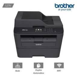 Multifuncional Brother Laser, Mono, Wi-Fi, 110V - DCP-L2540DW<br><br>