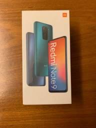 Xiaomi redmi note 9 128gb preto versao global