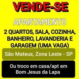 Vendo Apartamento em SP ou Troco por Casa/Apt em Bom Jesus da Lapa