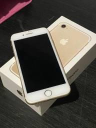 Iphone 7 32gb dourado impecável