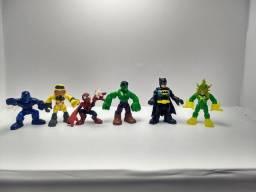 Kit DC e Marvel Imaginext R$ 110