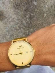 Relógio armani + corrente