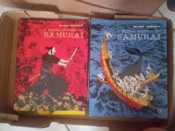 O sétimo suspiro do samurai vol I e II