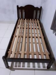 Cama Solteiro madeira Roxim