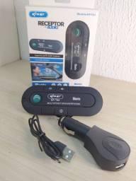 Receptor de áudio KNUP kp t84 acompanhar cabo USB