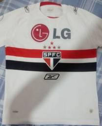 Camisa antiga do São Paulo FC