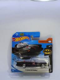 TV Séries Batmobile - Batmóvel - Preto - Hot Wheels