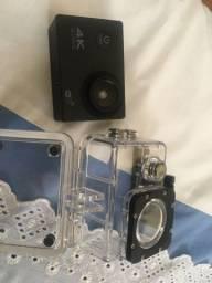 Camera Sport 4k usada 2 vezes NOVA