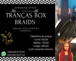 Tranças Box Braids